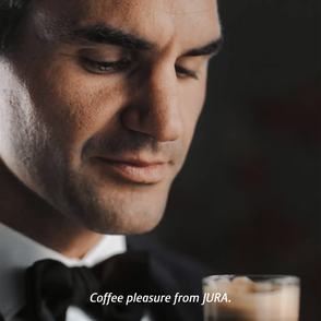 "New JURA Campaign with Roger Federer ""Fresh in the city"""
