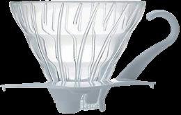 HARIO V60 Glass Dripper 02 - White