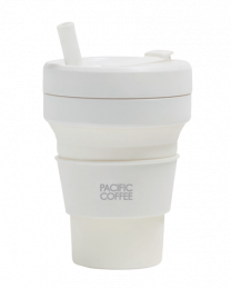 Pacific Coffee x Stojo Pocket Cup 16oz (Quratz)