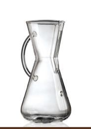 Three Cup Glass Handle CHEMEX®