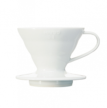 HARIO V60 Ceramic Dripper - White