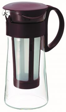 "Hario ""Mizudashi"" Cold Brew Coffee Pot Mini (Chocolate Brown) 600mL"