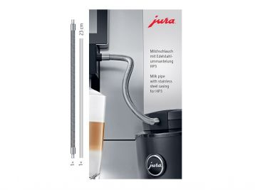 JURA Milk pipe with stainless steel casing HP3