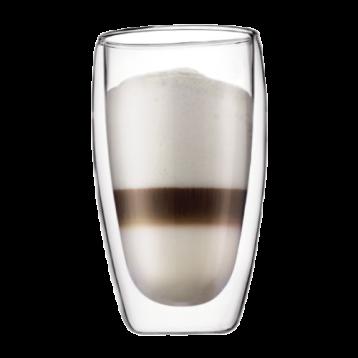 BODUM PAVINA 雙層玻璃杯 - 大 (一套兩件)